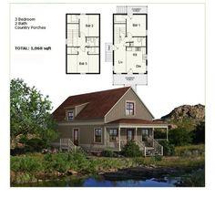 Prefab Homes Panelized Framing Kit NS1842 896 sqft 3BR 2BA DIY FREE SHIPPING