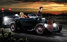 Marilyn Monroe & Elvis Presley..... Joy ride by Chris Consani