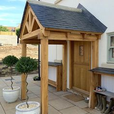 High Quality Oak Porch and Stable Door and Frame in Yorkshire