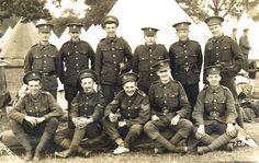 Northumberland Fusiliers, May 1915.