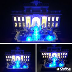LED Light Kit ONLY For Lego 21020 Trevi Fountain Architecture Lighting Bricks - LEGO Complete Sets & Packs