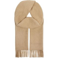 Burberry Plain cashmere scarf (£285) ❤ liked on Polyvore featuring accessories, scarves, cashmere scarves, burberry shawl, burberry, patterned scarves and print scarves