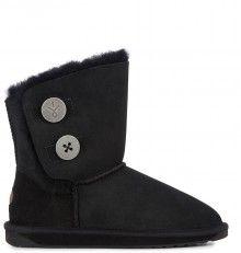 Emu černé válenky Denman Lo Black/Noir Emu, Bearpaw Boots, Shoes, Black, Fashion, Moda, Zapatos, Shoes Outlet, Black People