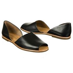 Franco Sarto Women's Venezia2 Flat Shoes (Black Leather)