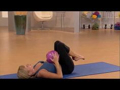 Pilates Exercises Using a Soft Ball