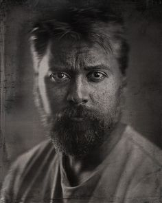 How to Make a Portrait Look Like Wet Plate Collodion Using Photoshop via @petapixel #phototips #photography