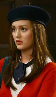 "Blair Waldorf in the episode ""Bonfire of the Vanity""........"