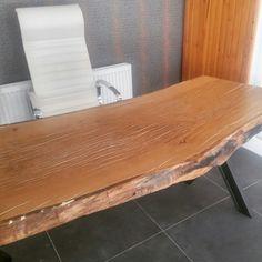 Meşe masif makam masası