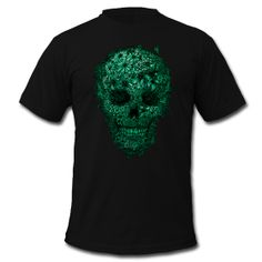 Carpe Diem – a creepy skull T-shirt with lots of humour