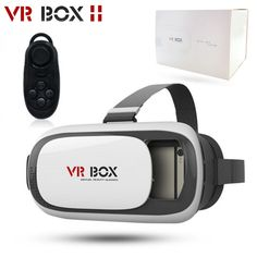 23dd1a06dd80b1 Aliexpress.com   Buy ORIGINAL VR BOX 2 3D Glasses Upgraded Version Virtual  Reality 3D Video Glasses For iPhone Smartphone + Bluetooth Controller from  ...