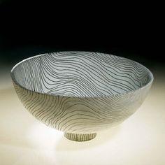Ceramics by Thomas Hopkins-Gibson at Studiopottery.co.uk - Salad bowl, 2008.