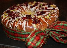 You can have your Stollen at anytime of the year! It's not just for Christmas.