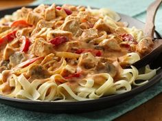 Colorful veggies and traditional Cajun seasonings combine with rotisserie chicken to quickly create this spicy Chicken Helper® dinner. - Raise or lower the heat to your taste buds . Add more cajun seasoning or delete cayenne pepper . Pasta Recipes, Chicken Recipes, Dinner Recipes, Cooking Recipes, Dinner Ideas, Skillet Recipes, Cajun Recipes, Jamaican Recipes, Crockpot Recipes