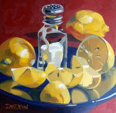 Lemon, Salt | by Leigh-Anne Eagerton, painting