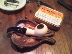 Samuel Gawith Fire dance Flake and IMP Meerschaum Pipe