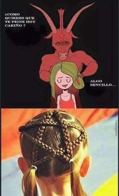 Being Satan's daughter can be fun at times Funny Times, Spanish Memes, Lol, Quality Memes, Humor Grafico, Stupid Funny Memes, Funny Comics, Creepy, Anime