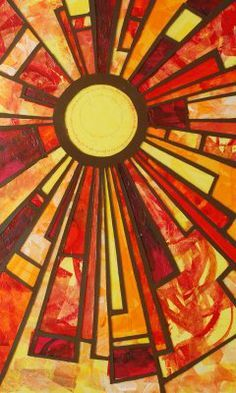 sunshine stained glass patterns - Google Search