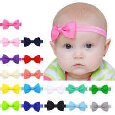 Check Out Our New Item:Hot Baby Colorful... Limited TIme Discount!   GET IT NOW>>http://www.foreverpassion.us/products/hot-baby-colorful-bowknot-hairband?utm_campaign=social_autopilot&utm_source=pin&utm_medium=pin