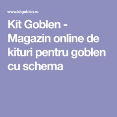Kit Goblen - Magazin online de kituri pentru goblen cu schema Skyline 2010