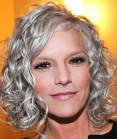 Salt and pepper gray hair. Aging and going gray gracefully. Grey Hair Don't Care, Grey Curly Hair, Silver Grey Hair, Curly Hair Styles, White Hair, Silver Haired Beauties, Grey Hair Inspiration, Gray Hair Growing Out, Salt And Pepper Hair