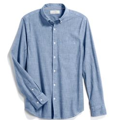 Camisa de vestir Elevate Brewar de manga larga para caballero