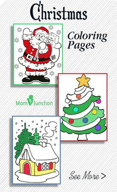 Cheer your child this holiday season with Christmas coloring sheets. Here is an amazing collection of Christmas coloring pictures to keep your children occupied, while you are engaged in preparations before the Christmas.