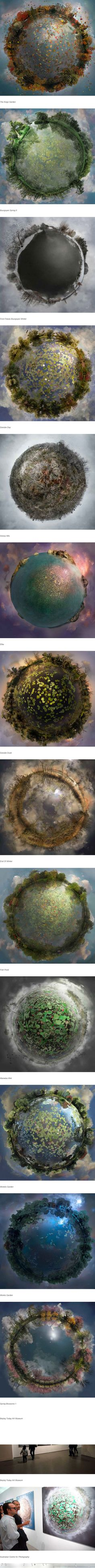photographer Catherine Nelson learned cutting edge compositing techniques that she's now using to make fantastical planets out of her favorite landscapes