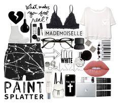 """Untitled #126"" by booooooom ❤ liked on Polyvore featuring Yves Saint Laurent, MANGO, Dr. Martens, Monki, Casetify, Lancôme, Lime Crime, Freida Rothman, Bobbi Brown Cosmetics and Mineheart"