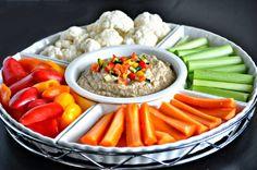 Hummus balsámico bajo en calorías y sin gluten - Vida Lúcida