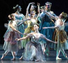 American Ballet Theatre corp in Frederick Ashton's The Dream.