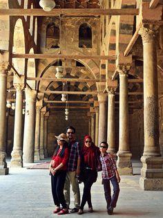 ...at benteng Salahudin Cairo