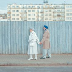 <p>We already covered last year the gorgeous photography of Maria Svarbova. For her new series entitled 'WA LL S', Maria placed her subjects in front of colorful and interesting walls. The