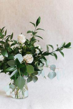 Taller vase with mor