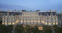 Visite du dernier né des palaces parisiens,  Le Peninsula, avenue Kléber : somptueux et original