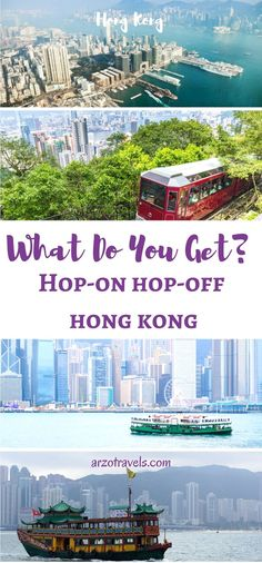 Review: What do you get for your money? Hop-on and hop-off bus tour by Big Bus, Hong Kong. Things included in Hop-on and hop-on.