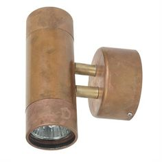 Comma Halogen IP54 Up-Down Spotlight - Copper (Oriel Lighting)