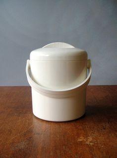"Vintage Mod Plastic ""Lillo"" Pedrini Ice Bucket"