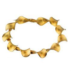 Summer Romance Gold Bracelet / Design: Chao-Hsien Kuo Gold Bracelet / Lapponia Jewelry / Handmade in Helsinki