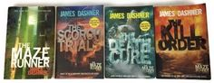 Lot 4 Maze Runner Series Set James Dashner Scorch Trials Kill Order Death Cure  | eBay