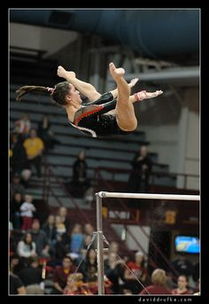 Women's Gymnastics - Nebraska at Minnesota by daviddrufke, via Flickr