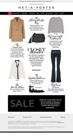 NET-A-PORTER - 6 closet classics to buy now