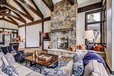 Hawks Hideaway is a beautiful villa for rent in Breckenridge, CO. Lodge Look, Beautiful Villas, Hawks, Spin, Luxury Homes, Colorado, Scenery, Mountain, The Incredibles