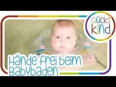 Hände frei beim Babybaden   Babyswimmer   Das Glückskind   Messebericht Babywelt # BabyBlog - YouTube