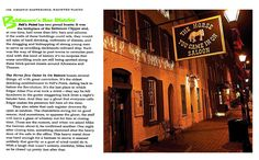 The Horse You Came In On Saloon in Fells Point - interesting history, fun bar.