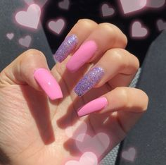 99 Catchy Acrylic Nails Coffin Design Ideas For Any Women - Nail Designs Nail Art Designs, Colorful Nail Designs, Acrylic Nail Designs, Colorful Nails, Acrylic Nails Natural, Best Acrylic Nails, Acrylic Nails Coffin Glitter, Aycrlic Nails, Cute Nails