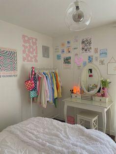 Pastel Room Decor, Indie Room Decor, Teen Room Decor, Pastel Bedroom, Dorms Decor, Indie Bedroom, Cute Room Decor, Room Wall Decor, Room Design Bedroom