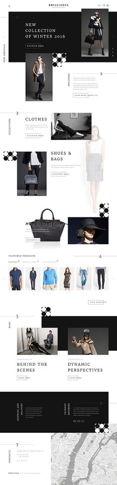 Template 58072 - Brilliance Clothes Responsive Shopify Theme