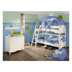 Funny Play Beds for Cool Kids Room Design by Paidi | DigsDigs, found on #polyvore.