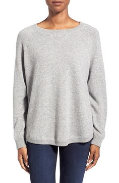 Cashmere Sweater: Kinross Oversize Cashmere Sweatshirt available at #Nordstrom