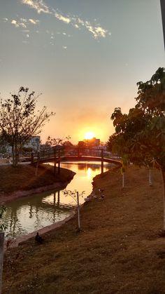Por do sol - Parque da Cidade, Porto Velho-RO